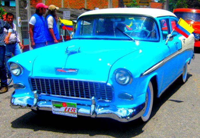 Chevrolet Azul Modelo 1950