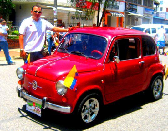 Fiat topolino Modelo 1977 Rojo